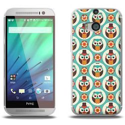 Fantastic Case - HTC One M8s - etui na telefon Fantastic Case - funny owls