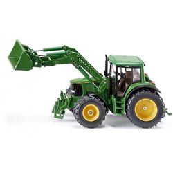 SIKU Traktor JDeere z Przednią Ładowarką