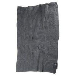 Pled bawełniany Moss Knit 120x180 cm szary