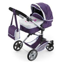 BAYER DESIGN Wózek wielofunkcyjny dla lalek Neo Pro, kolor fioletowy