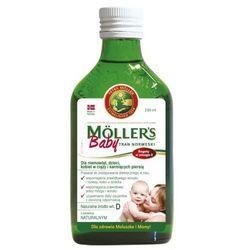 Mollers baby tran norweski naturalny 250 ml