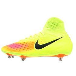 Nike Performance MAGISTA ORDEN II SG Korki wkręty volt/black/total orange/hyper turquoise/pink blast/clear jade