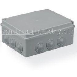 PAWBOL PUSZKA S-BOX 506 N/T 240x190x90 12 DŁAWIKÓW SZARA IP 55