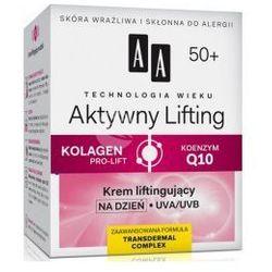 AA Technologia Wieku 50+ Aktywny Lifting (W) krem liftingujący na dzień 50ml