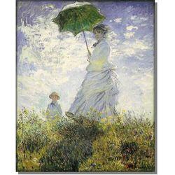 Kobieta z Parasolem - Madame Monet i Jej Syn - Claude Monet