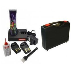 Heiniger Saphir Style - Profesjonalna, bezprzewodowa maszynka z dwoma akumulatorami i walizką do przechowywania