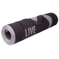Mata do ćwiczeń fitness FLEXMAT III Spokey (czarno-szara)