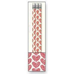 Zestaw ołówków drewnianych Rossi 1931 AD1404 - serca