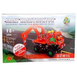 Mały konstruktor Dźwig Służba drogowa