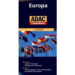 Europa. ADAC LanderKarte 1:2 500 000 (opr. broszurowa)