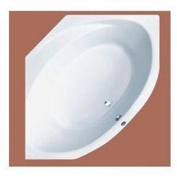 Wanna narożna Ruben Sigma symetryczna 150 x 150 cm, biała, system hydromasażu Rexus Sigma + Rexus