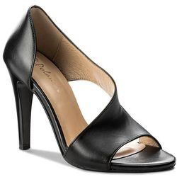 4f Sandały Sad004 37 Czarny (c4l15)