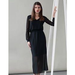 Sukienka z szyfonu