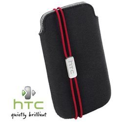 ETUI HTC S800 DO DESIRE X - CZARNE - WSUWKA - POUCH
