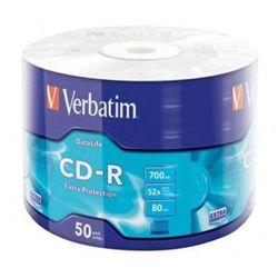 Płyty CD-R 50SZT. 700MB 80MIN VERBATIM
