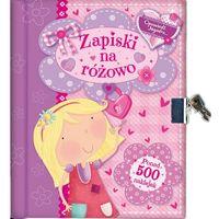 Zapiski Na Różowo - Wysyłka od 5,99 - kupuj w sprawdzonych księgarniach !!! (opr. twarda)