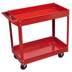 Wózek warsztatowy czerwony (100 kg) Zapisz się do naszego Newslettera i odbierz voucher 20 PLN na zakupy w VidaXL!