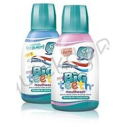 Aquafresh Big Teeth Kids płyn do płukania jamy ustnej 300 ml