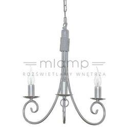 Żyrandol LAMPA wisząca SILVERADO 5416 Nowodvorski świecznikowy ZWIS metalowy maria teresa srebrny