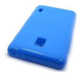 FLEXmat Case - LG Swift F6 - etui na telefon - niebieski