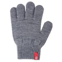 Rękawiczki Reima Twig cienka włóczka wełniana szare