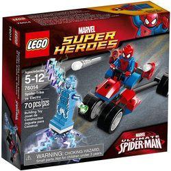76014 TRÓJKOŁOWIEC PAJĄKA VS ELECTRO (Spider-Trike vs. Electro) - KLOCKI LEGO SUPER HEROES wyprzedaż