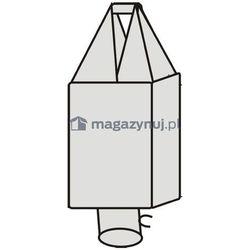 Worek BIG BAG 2. 1 uchwyt, wym. 625x625x1200mm