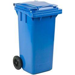 Pojemnik na śmieci 120 l niebieski