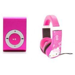 Słuchawki Dla Dzieci Hello Kitty + Odtwarzacz MP3