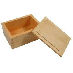 Pudełko na koraliki - pomoce Montessori