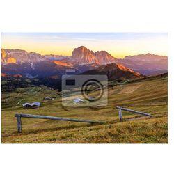 Fototapeta Dolomity Alpy latem