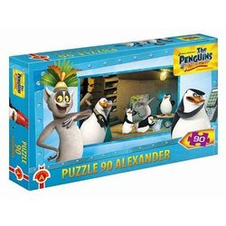 Puzzle Pingwiny z Madagaskaru 90