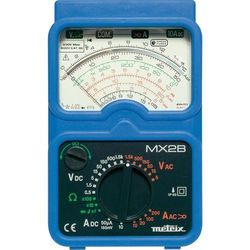 Multimetr analogowy Metrix MX2B + MN09, CAT II 1000 V, CAT III 600 V