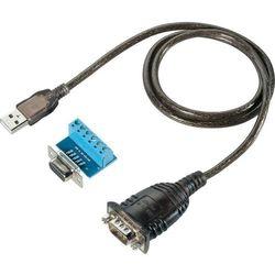Przejściówka, adapter USB 1.1 28997C19, [1x Złącze męskie RS485, Złącze żeńskie RS422 - 1x Złącze męskie USB 1.1 A], Czarny, proste