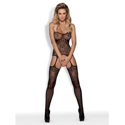 Bodystocking F218 czarne S/M/L