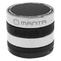 Głośnik mobilny MANTA Tuber MA407 Srebrny