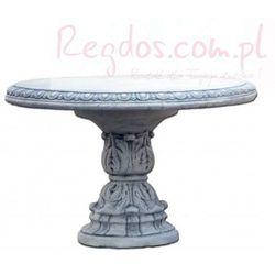Mebel ogrodowy z betonu, stół ogrodowy