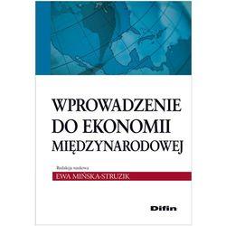 Wprowadzenie do ekonomii międzynarodowej (opr. miękka)