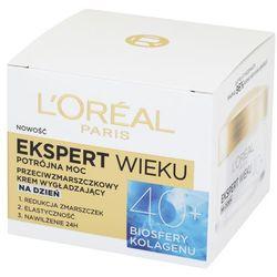 Loreal Paris Expert Wieku 40+ Przeciwzmarszczkowy wygładzający krem do twarzy na dzień 50 ml
