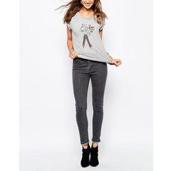 Levis 721 High Waist Skinny Jean - Grey