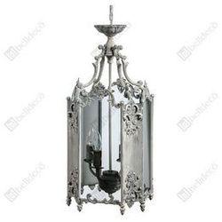 Stylowa Lampa sufitowa klatka Belldeco Grigio