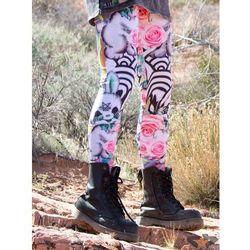 spodnie damskie (legginsy) Disturbia - Bunnies - 341