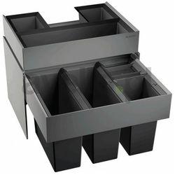 Sortownik odpadów, kosz na śmieci, poczwórny BLANCO SELECT 60/4 Orga (520783)