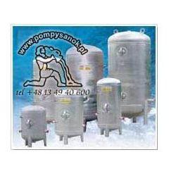 Zbiornik hydroforowy ocynkowany 200L poziomy