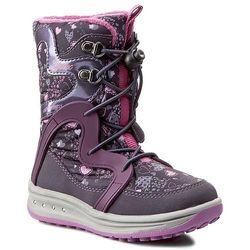 Śniegowce GEOX - J Roby G. Abx B J5418B 0MN50 C8267 Violet/Purple