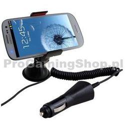 Uchwyt samochodowy (długość 20 arm cm) ładowarka samochodowa do Sony Ericsson Xperia Arc i Arc S