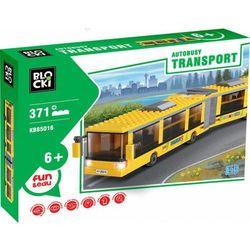 Klocki Blocki Transport Autobus przegubowy 371 elementów