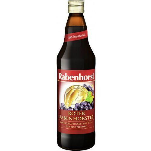 Sok z Czerwonych Winogron z Żelazem 750ml - Rabenhorst