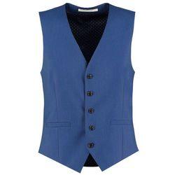 Burton Menswear London PACIFIC Kamizelka garniturowa blue