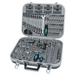 Zestaw narzędzi 232 el. w metalowej walizce - M98450